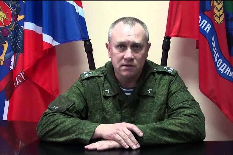 Анащенко уничтожен в Луганске / facebook.com/butusov.yuriy