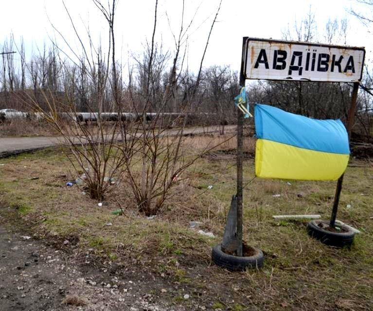 За минувшие сутки в Авдеевке погибли двое военных / twitter.com/poroshenko