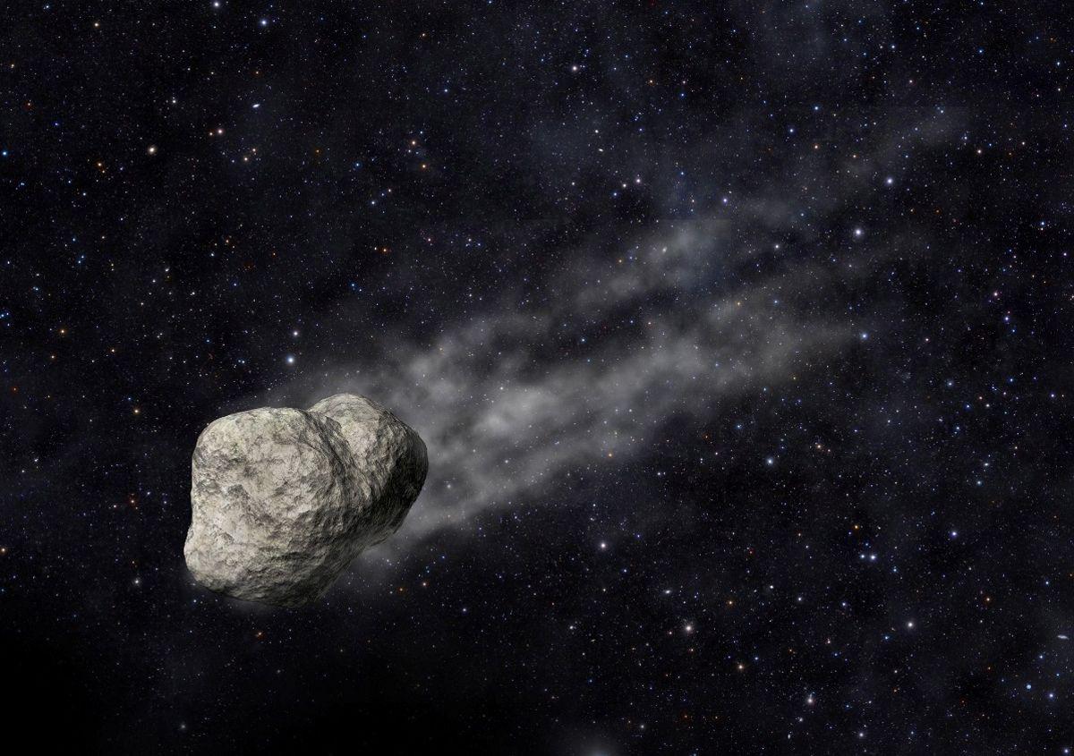 Сегодня рядом с ЗЕмлей пролетит астероид / фото Hi-news.ru