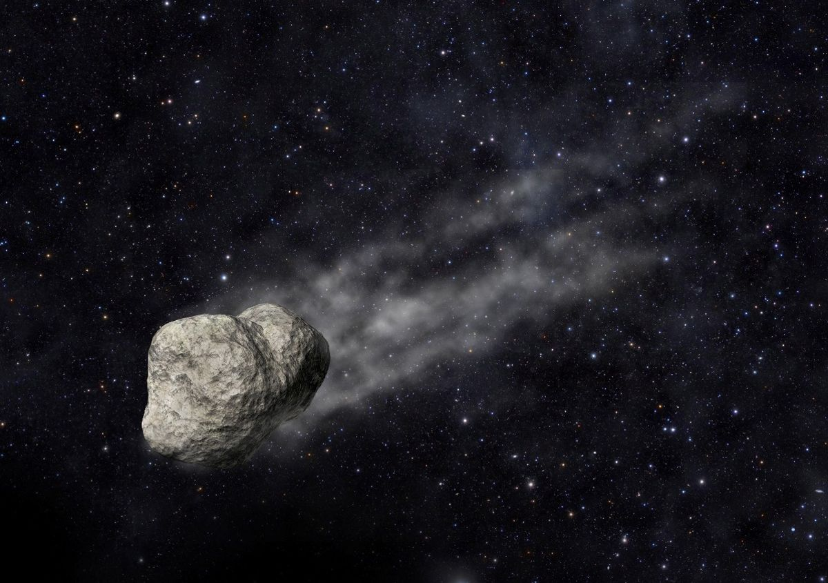 Скорость астероида составляет порядка 4,3 километров в секунду/ фото Hi-news.ru