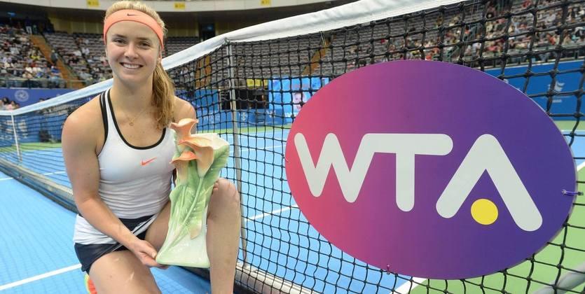 Свитолина поднялась в рейтинге благодаря победе в Тайбэе / Taiwan Open