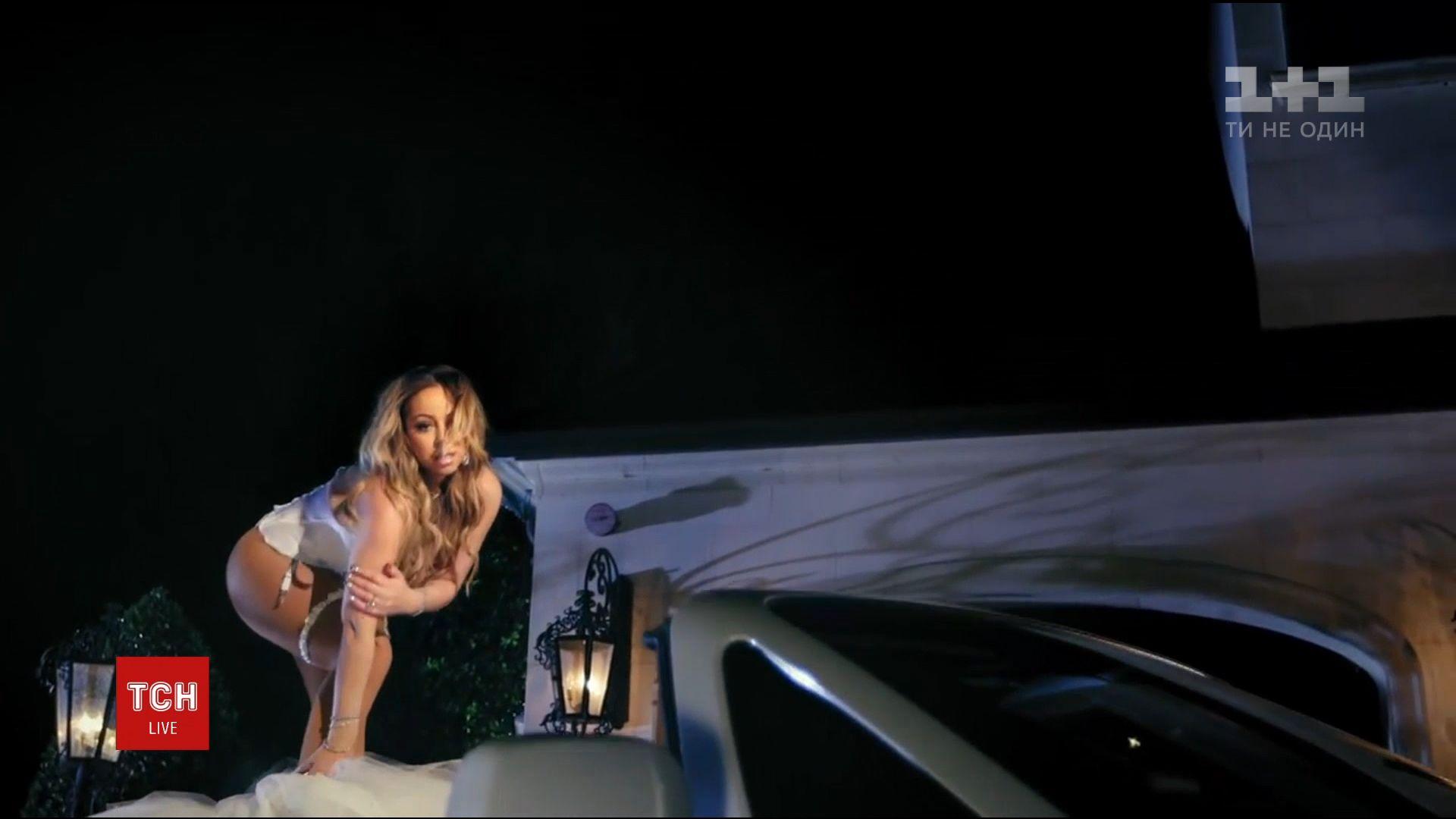 Мэрайя Кэри в клипе сожгла дорогое платье, в котором должна была выйти замуж за бывшего /