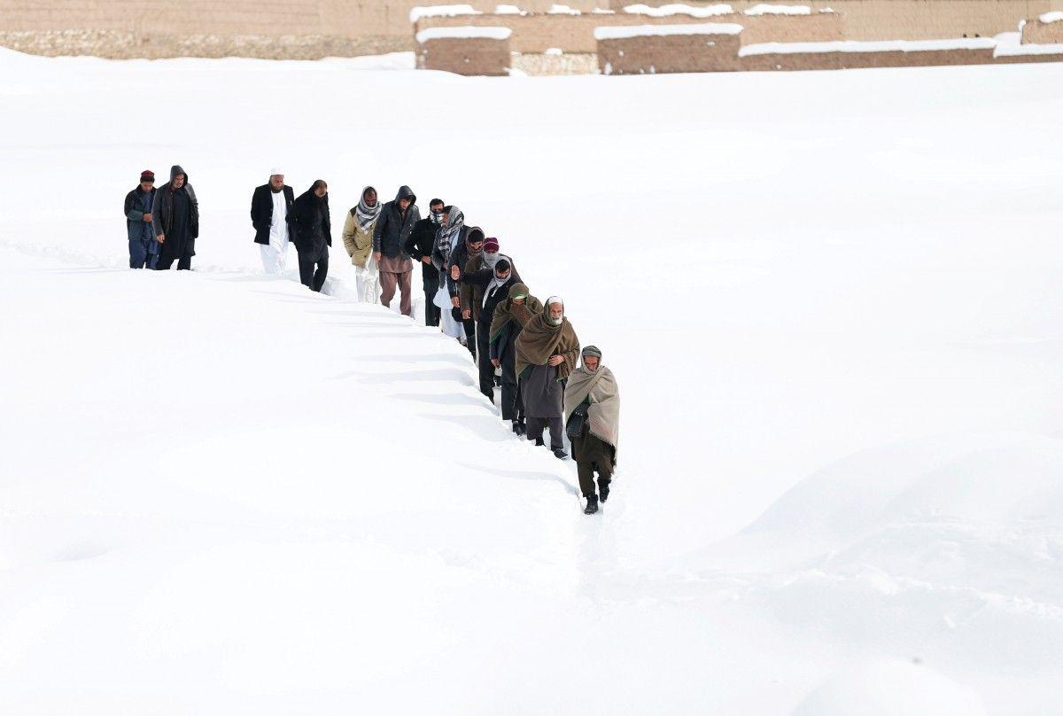 Снігопад в Афганістані / Reuters