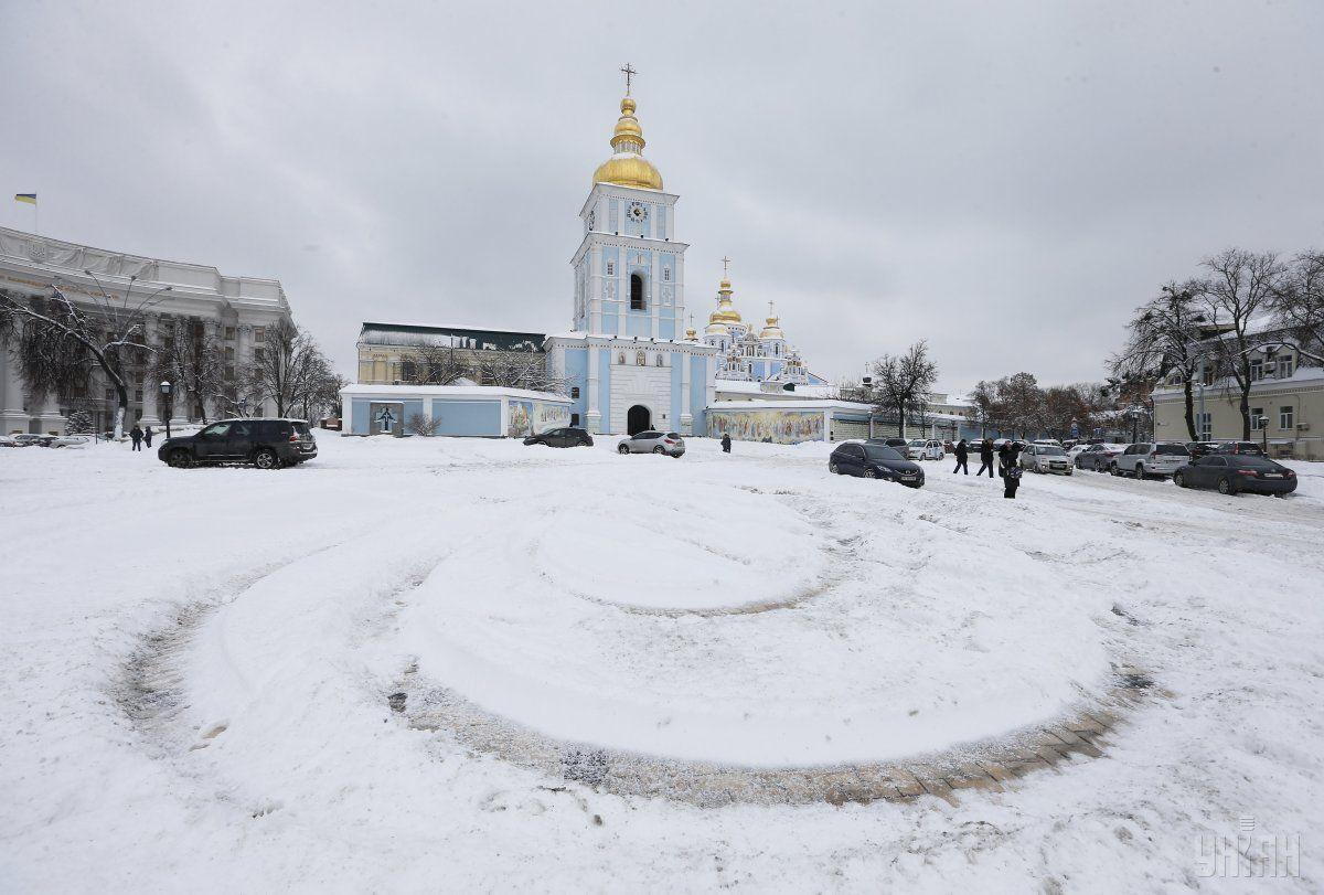 Холоднее всего в Киеве был 9 января / УНИАН