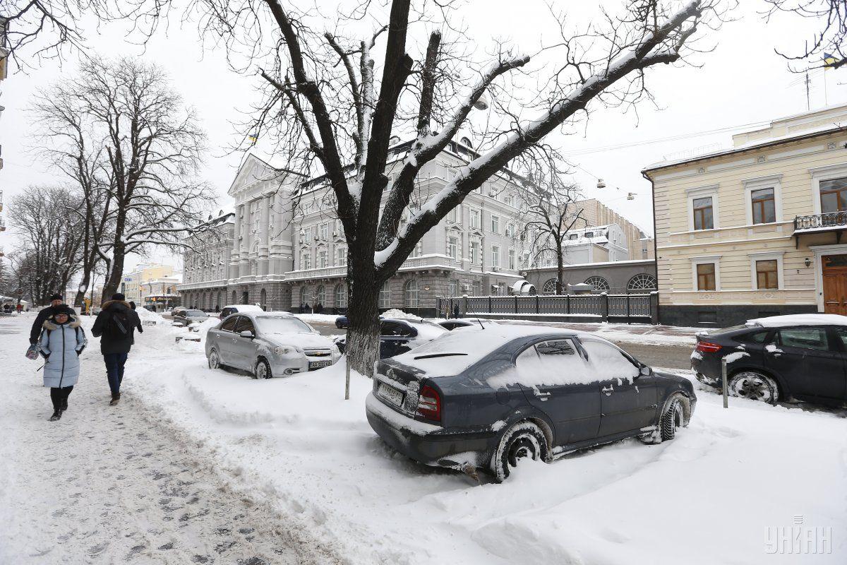 В Україні сьогодні очікуються снігопади / УНІАН