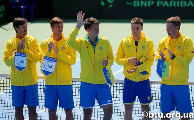 Збірна України зіграє з португальцями за право потрапити в плей-офф Світової групи / btu.org.ua