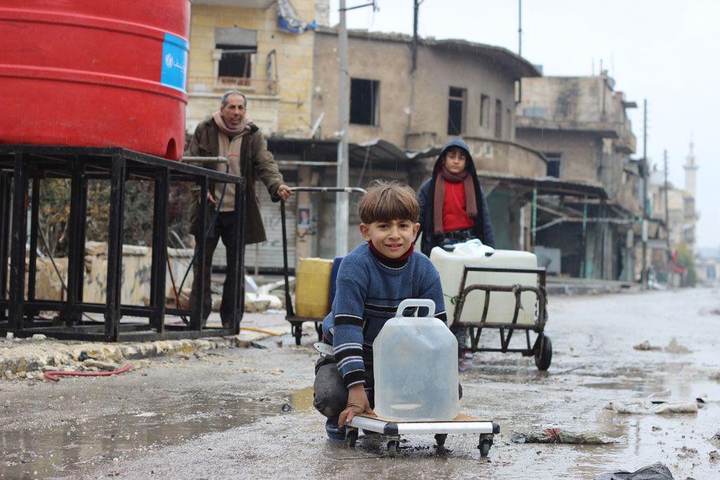 Дети в Алеппо / Фото ЮНИСЕФ