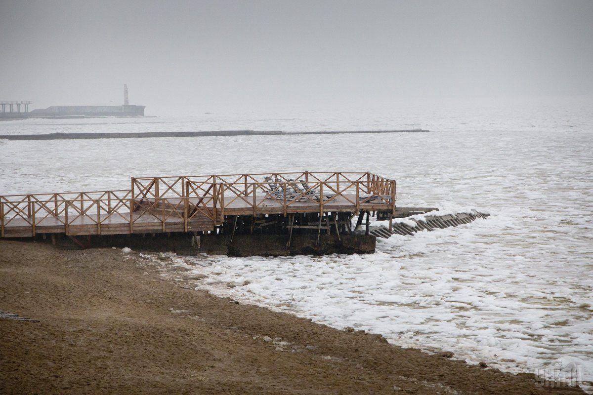 Море в Одесі / УНИАН