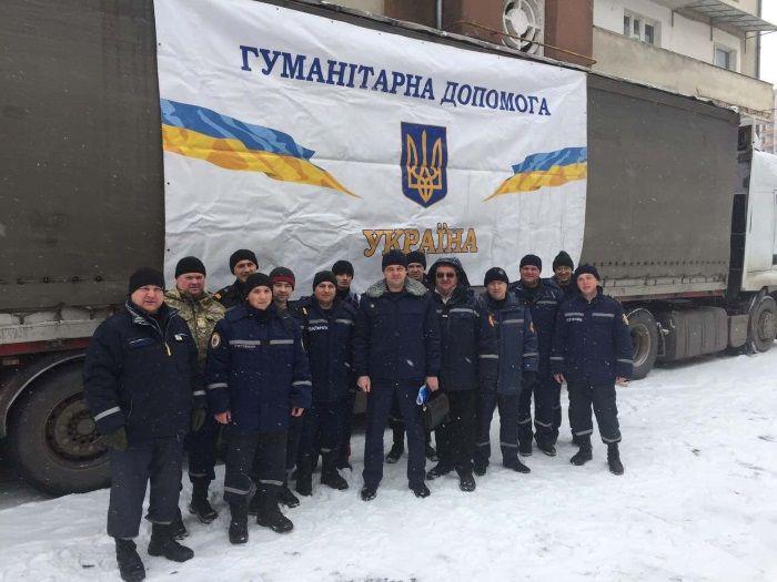 З Тернопільщини до Авдіївки відправили гуманітарну допомогу / ТОДА