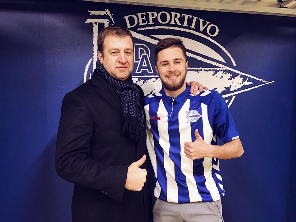 Хахльов підписав контракт з середняком іспанського чемпіонату / facebook.com/oleksiy.khakhlov