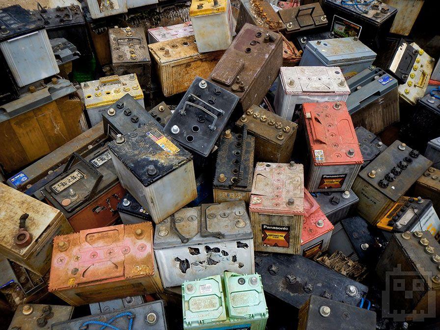 Компании по утилизации покупают использованные автомобильные аккумуляторы / stinger-acc.ru
