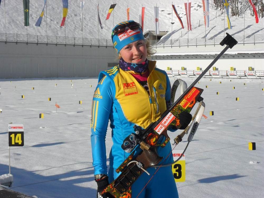 Юлия Джима выиграла первую гонку нового сезона / biathlon.com.ua