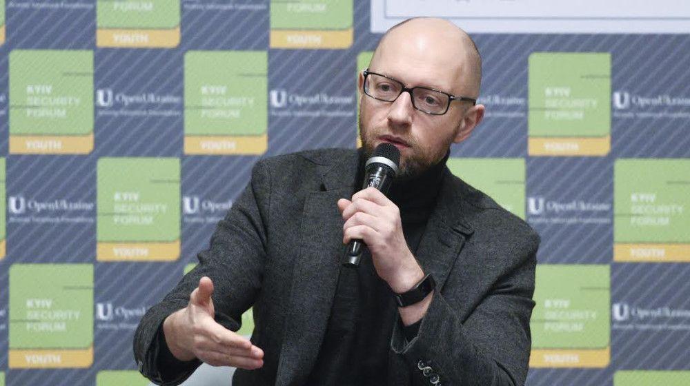 Яценюк подчеркнул, что