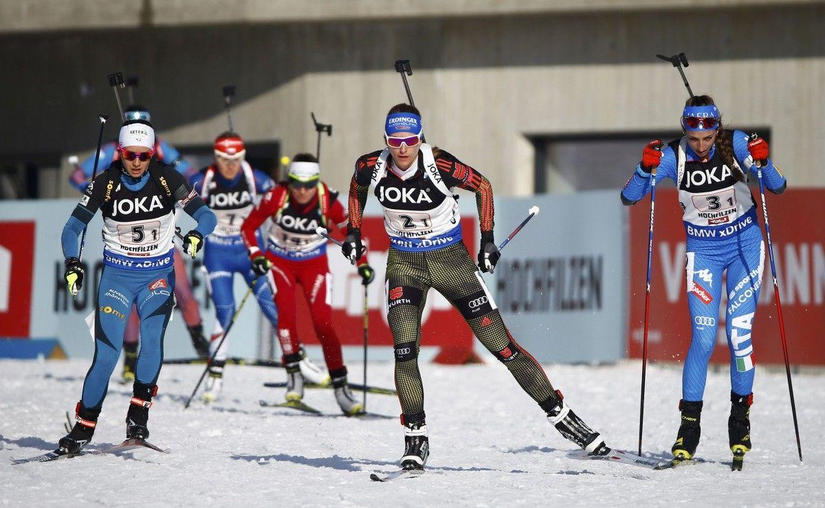 Расширенный масс-старт будет добавлен в программу соревнований по биатлону / Reuters