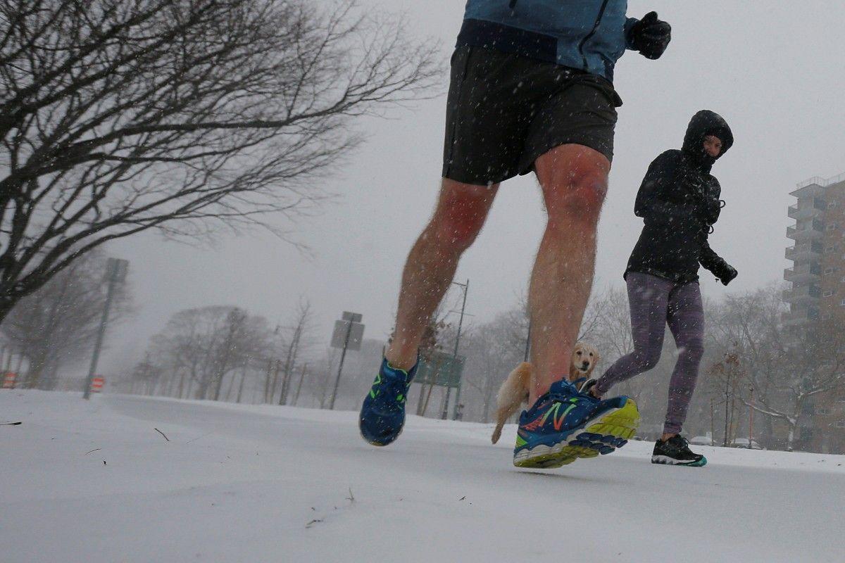 Снігопад у Нью-Йорку / REUTERS