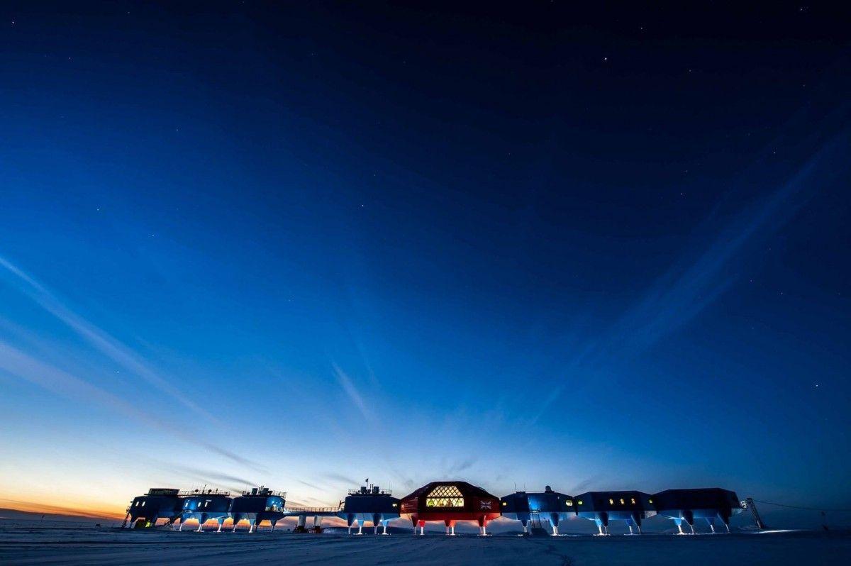 Британська станція в Антарктиді / facebook.com/BritishAntarcticSurvey