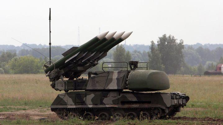 """Стрільби проведуть із """"Бук-М1"""" / vesti-ukr.com"""