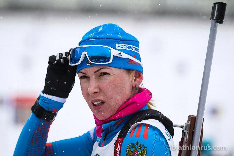 Глазиріна дискваліфікована до з'ясування всіх обставин / biathlonrus.com
