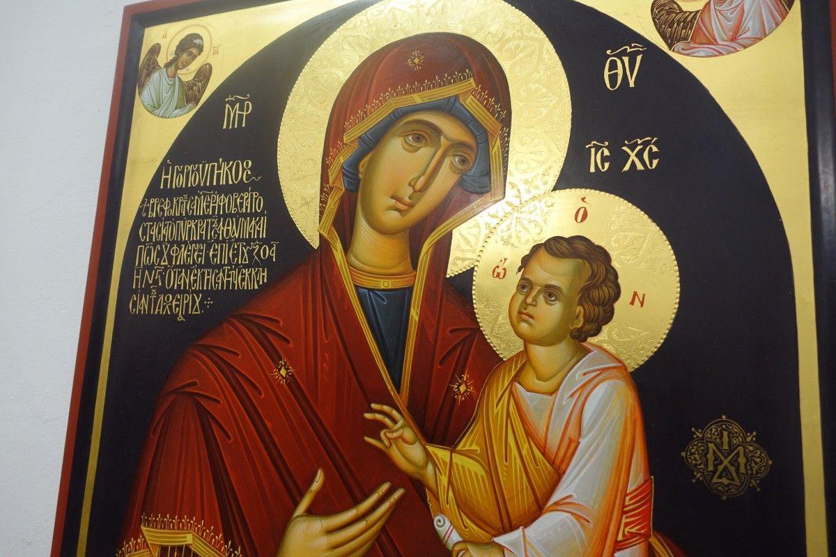 Список чудотворного афонского образа Богородицы