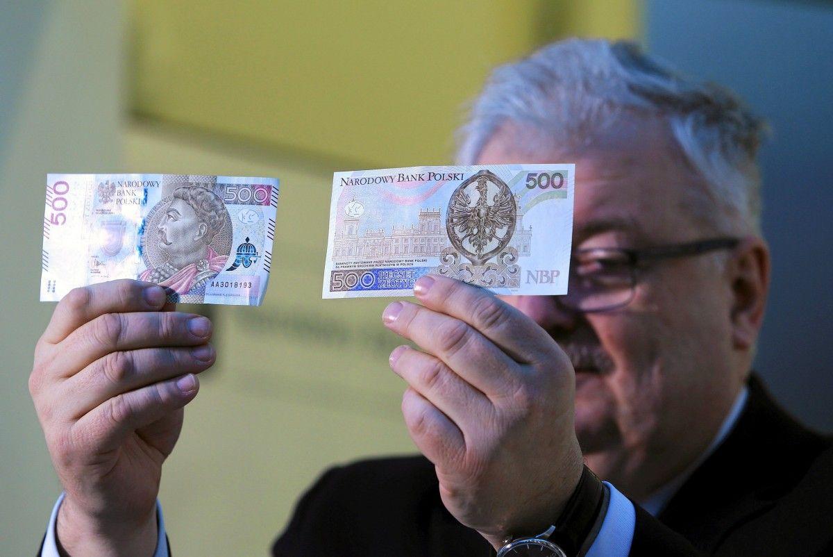 У Польщі 10 лютого до обігу ввійшла банкнота номіналом 500 злотих