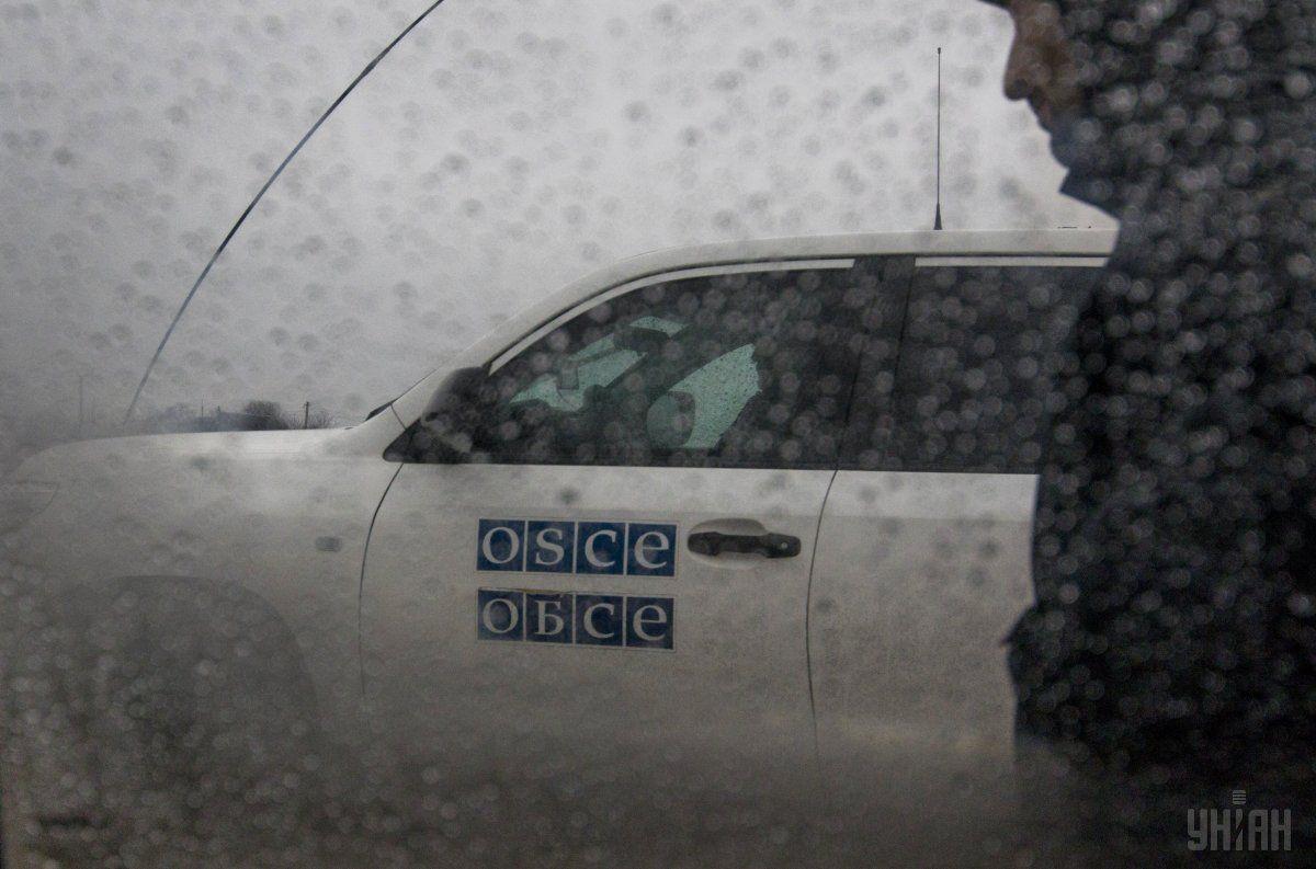 СММ констатировала уменьшение количества нарушений режима прекращения огня / фото УНИАН