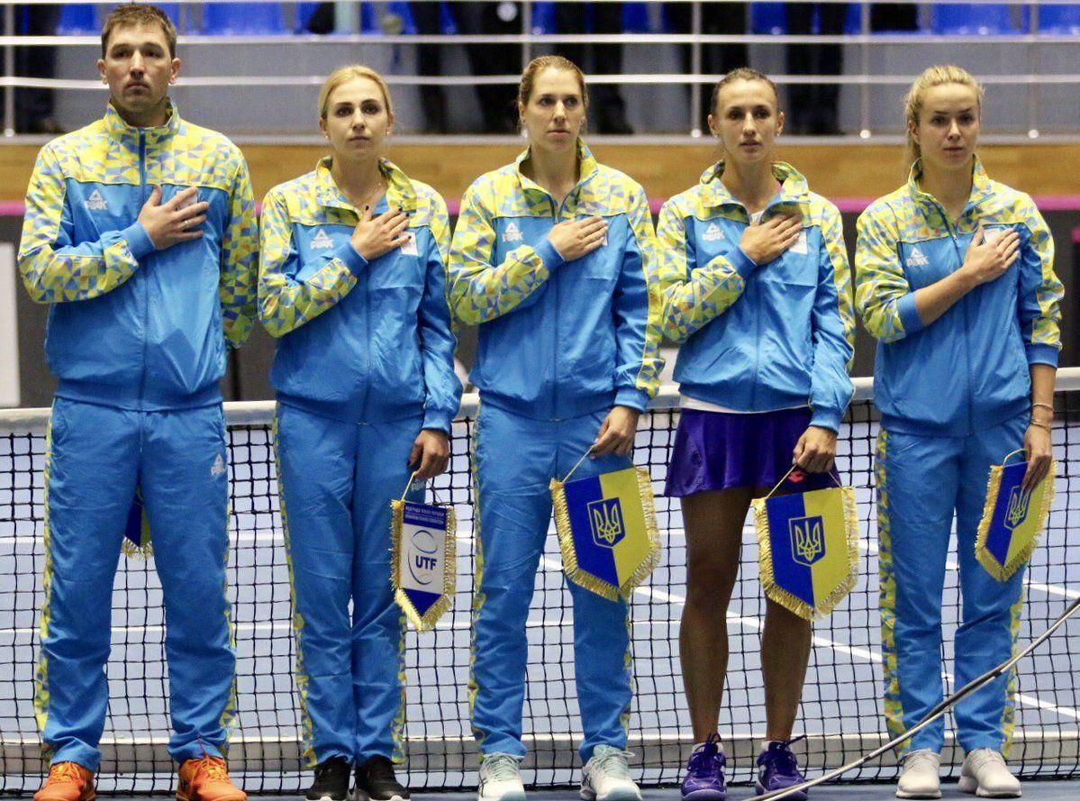 Українки зіграють з німкенями в плей-офф Світової групи / twitter.com/UkrainianTennis