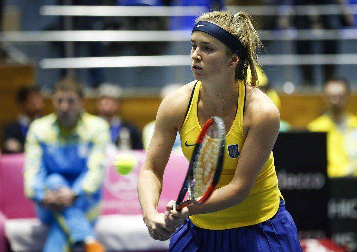 Свитолина упрочила преимущество сборной Украины в матче с Австралией / 24liveblog.com