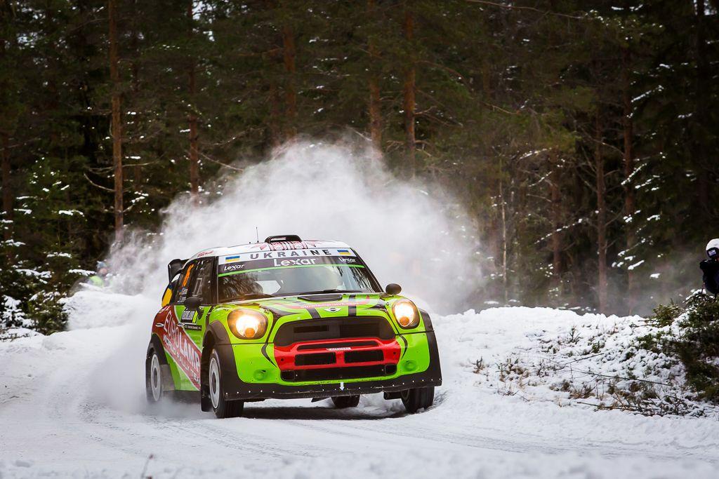 Украинский экипаж замкнул 20-ку сильнейших в Швеции / eurolamp-wrt.com