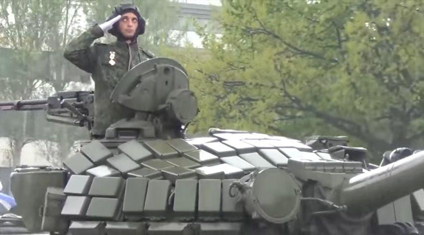 Чичеріна знову підтримала бойовиків на Донбасі / Скріншот