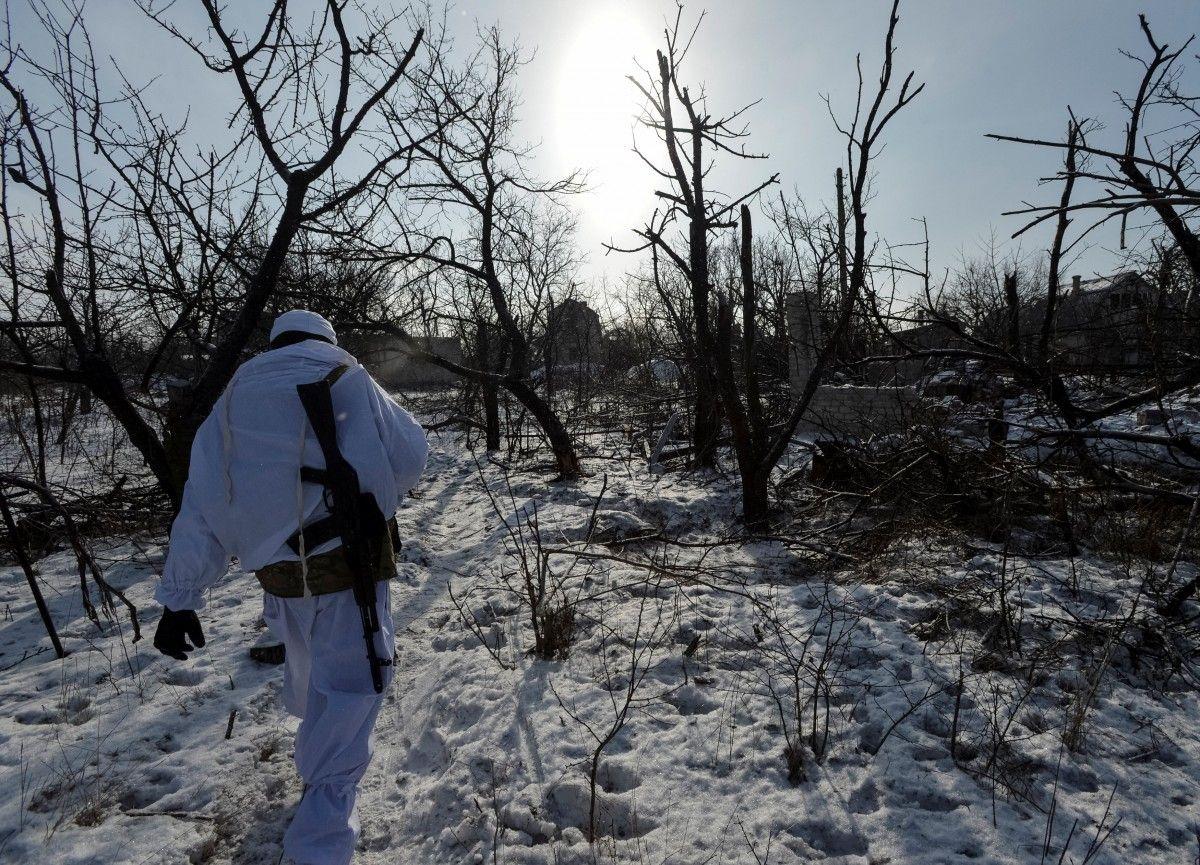 Среди украинских воинов боевых потерь не было / фото REUTERS