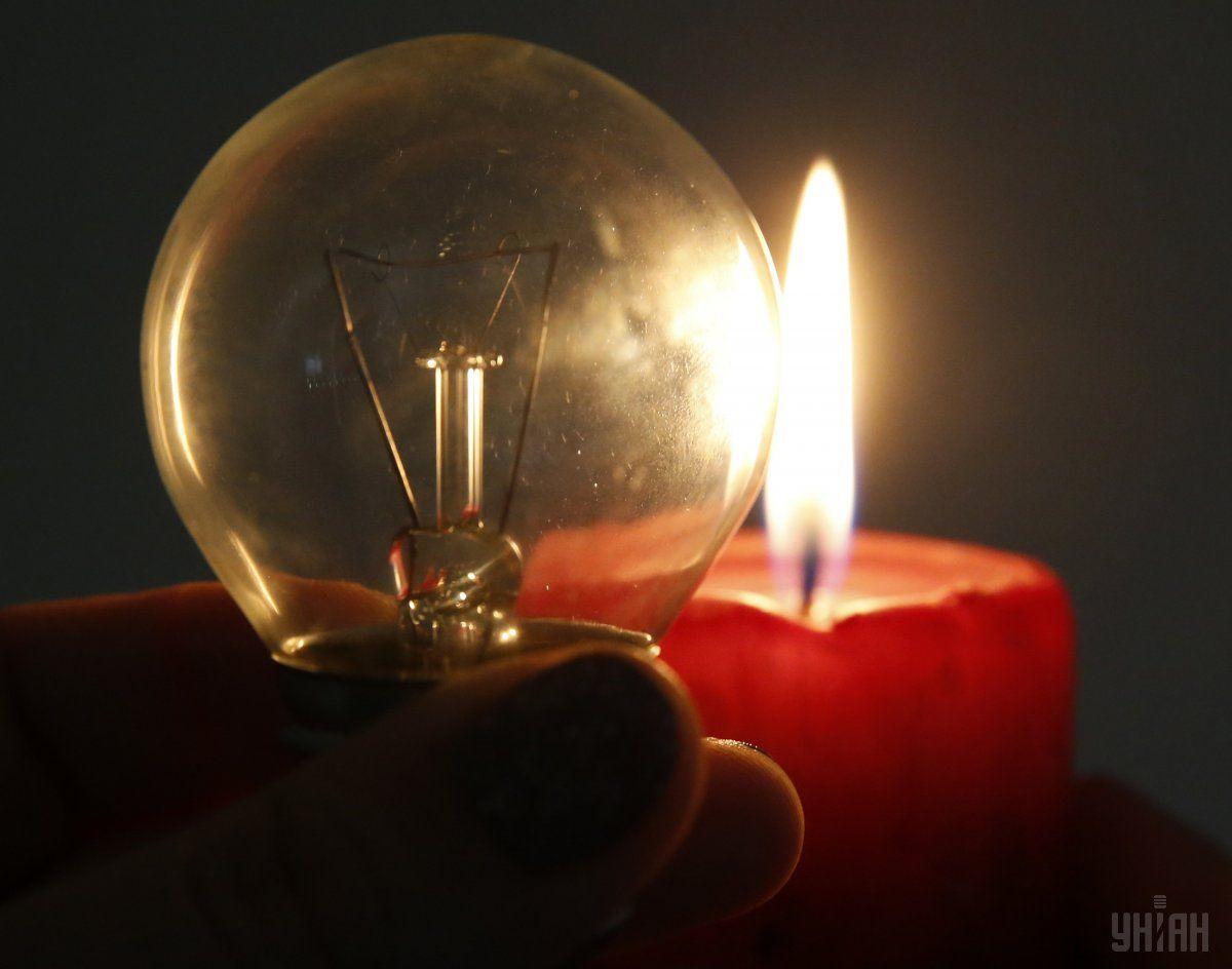 Из-за непогоды в Украине без света остались 188 населенных пунктов / Фото УНИАН