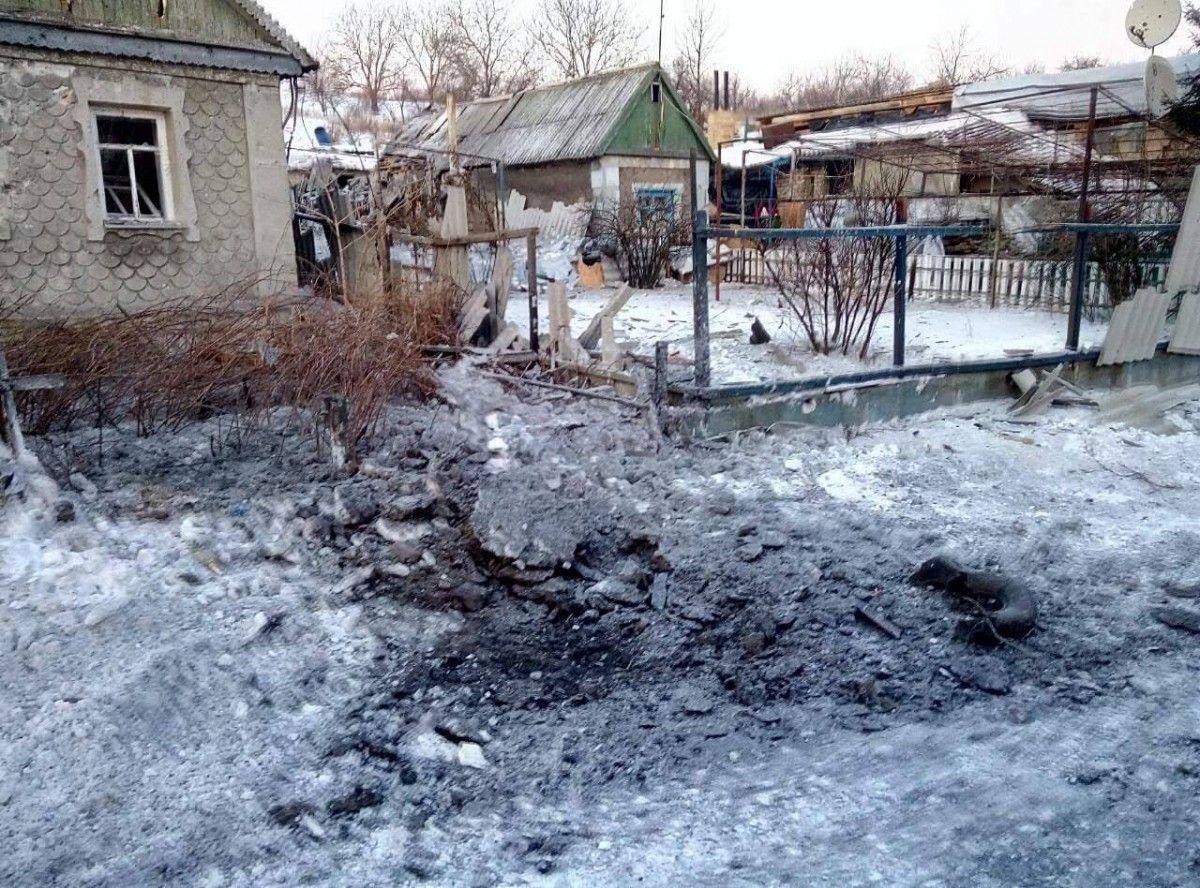 Активный обстрел начался с обеда / Вячеслав Аброськін, Facebook