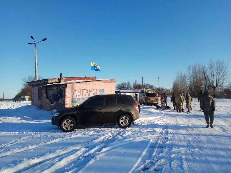 Участники торговой блокады на Донбассе начали перекрывать дороги / facebook.com/shtab.blokady