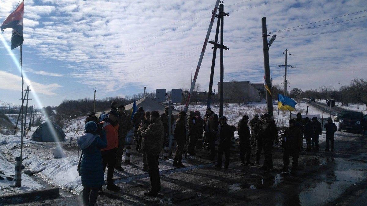 Штаб блокады готовится перекрыть Бахмутскую трассу / facebook.com/shtab.blokady