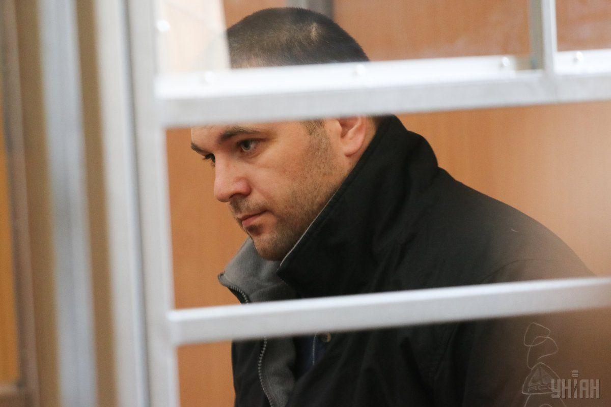 Подозреваемый в убийстве двух патрульных Александр Пугачев / Фото УНИАН