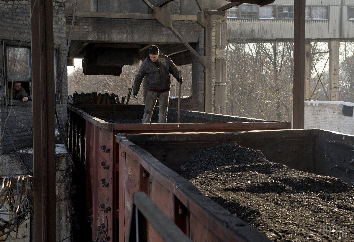 80% угля в2015г.  Украина закупила в РФ
