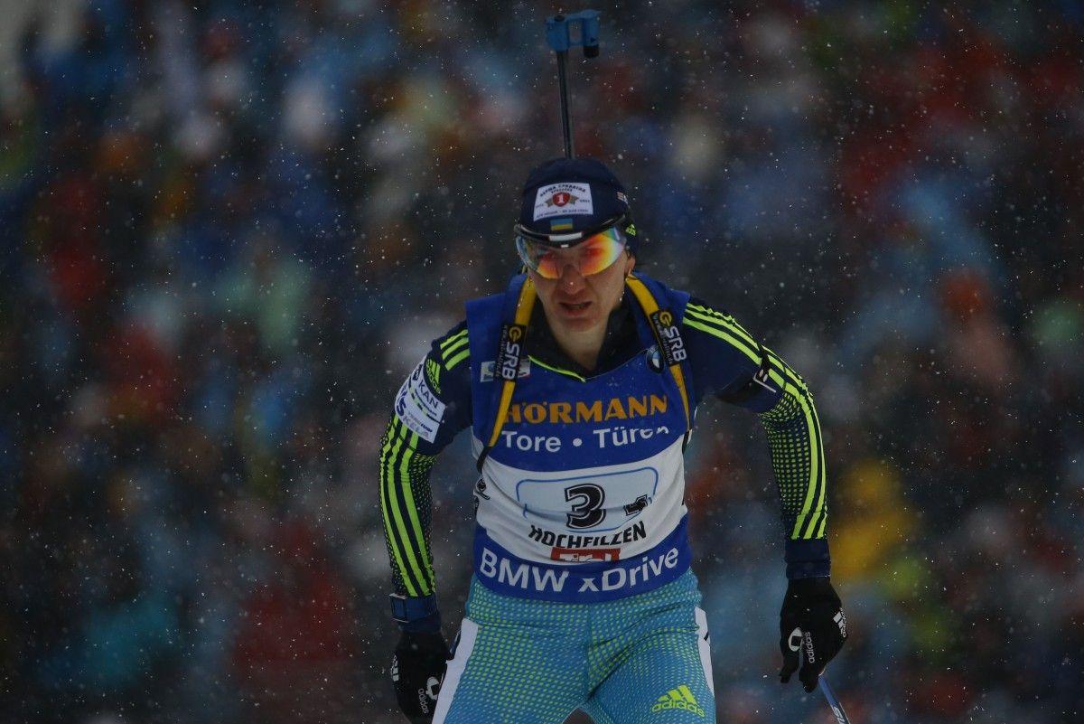 Биатлонистка Пидгрушная показала лучший результат среди спортсменок сборной Украины/ Reuters