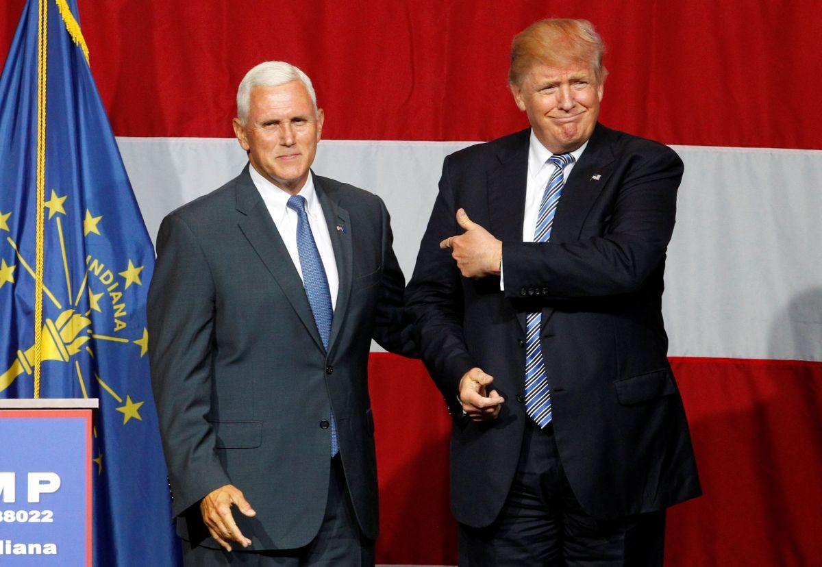 Майк Пенс и Дональд Трамп / REUTERS