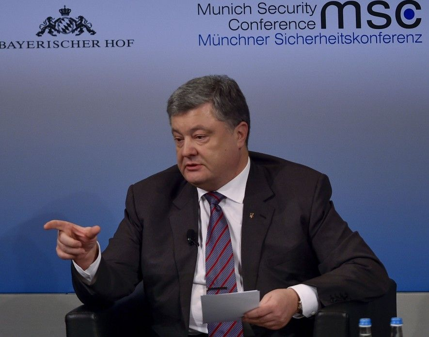 Poroshenko at a Munich Security Conference / president.gov.ua