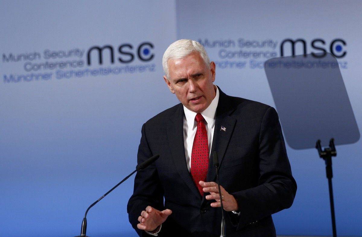 Mike Pence / REUTERS