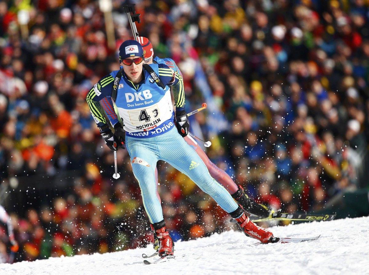 Владимир Семаков неудачно прошел свой этап в эстафете чемпионата мира  / Reuters