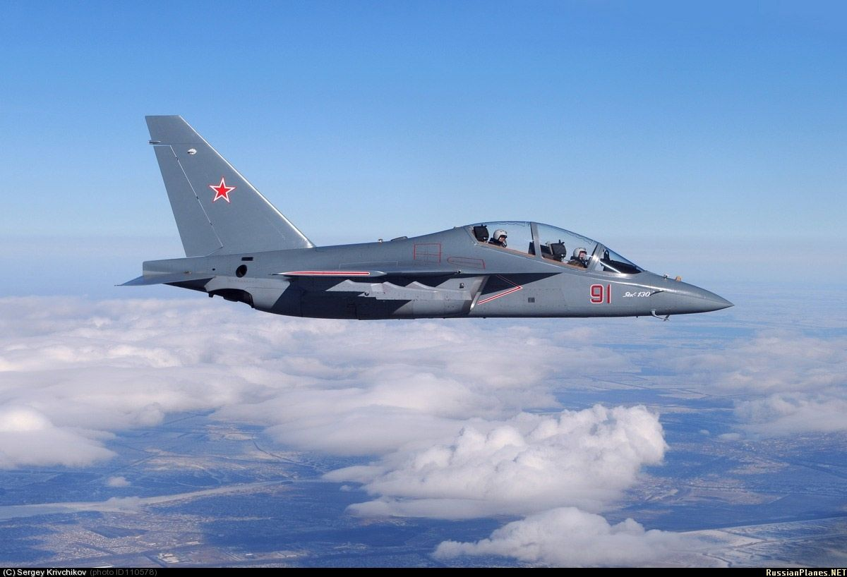 Украина продает РФ двигатели для боевых самолетов Як-130 / militaryrussia.ru