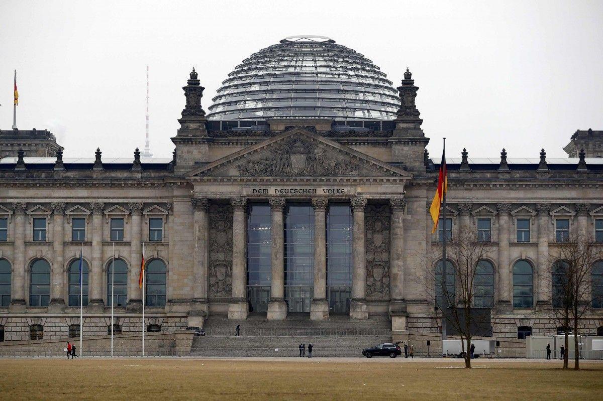Здание Бундестага, иллюстрация / REUTERS