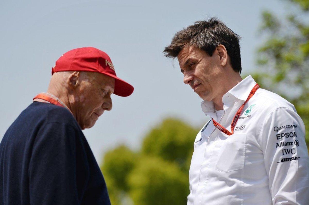 Вольф та Лауда залишаються у німецькій команді / F1 Hub