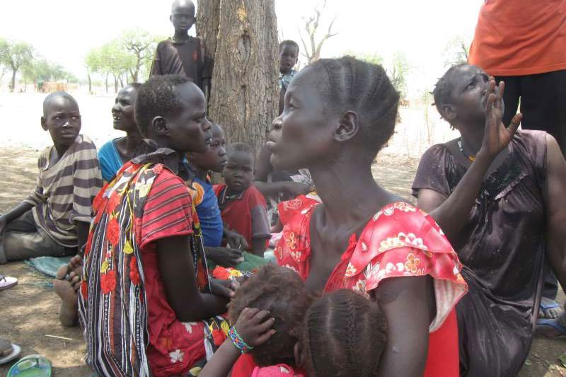 Жінки з числа переміщених осіб в Південному Судані. Фото УВКБ