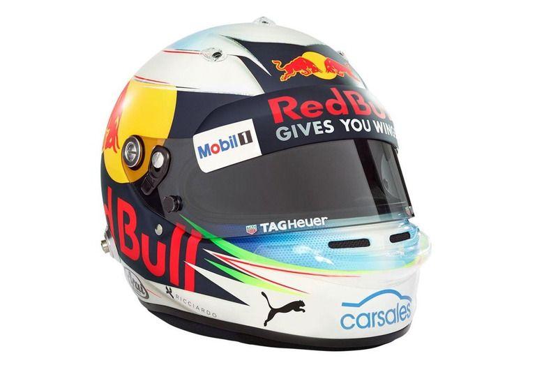 У Риккардо в новом сезоне будет новый шлем / motorsport.com