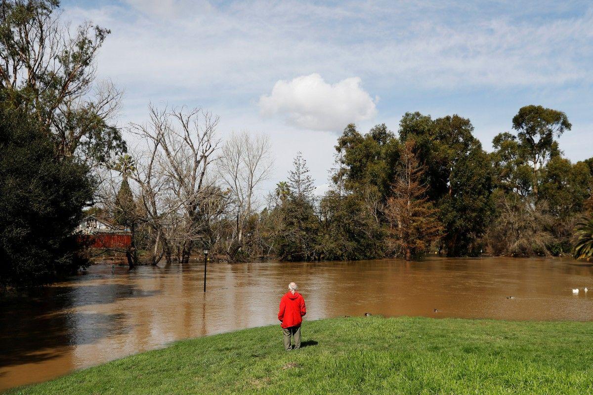 Наводнение в Калифорнии / Reuters