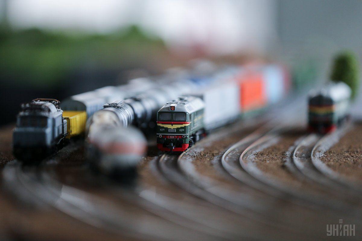 У Києві представили найдовший в Україні макет залізниці