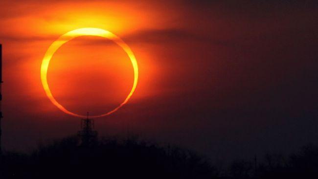 На вихідних очікується незвичайне сонячне затемнення