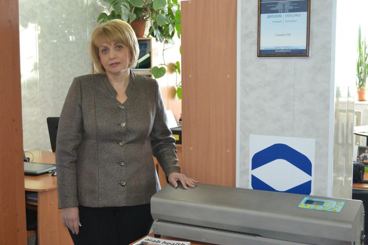 Елена Яценко говорит, что благодаря проекту у нее на фирме появилось три рабочих места / Фото УНИАН